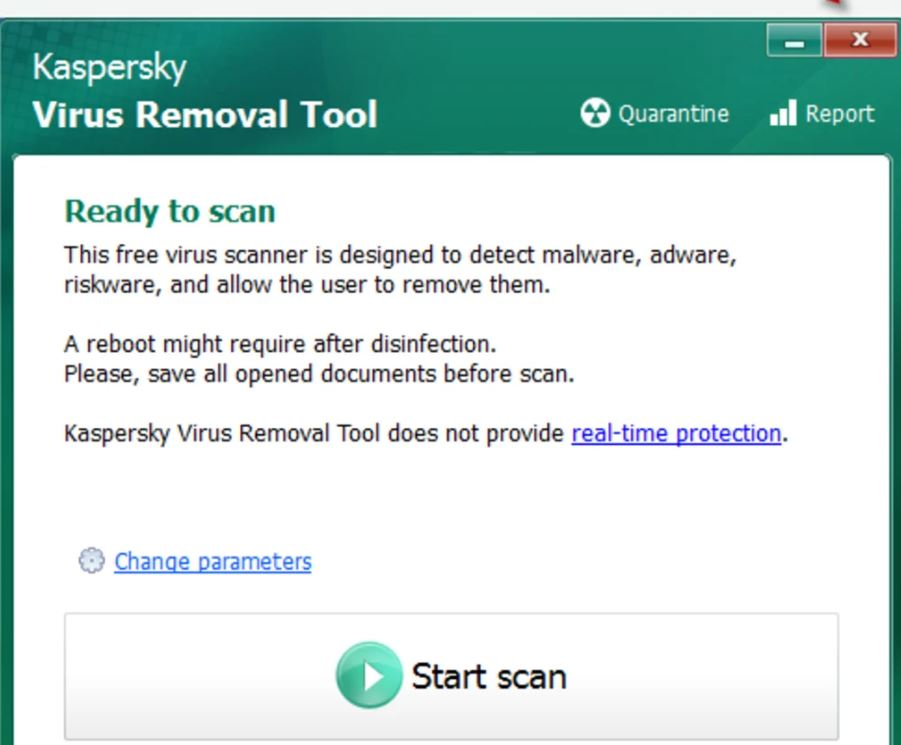 Photo of Kaspersky Virus Removal Tool