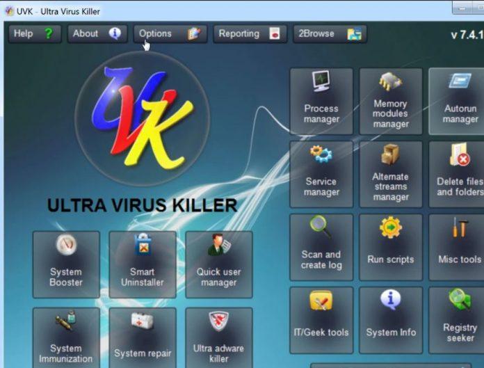UVK Ultra Virus