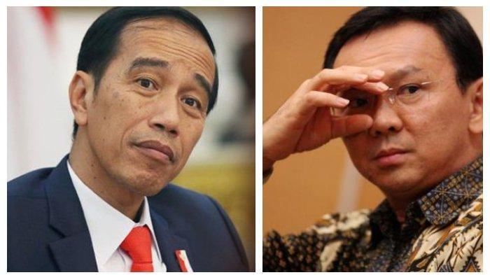 jokowi akhirnya jawab soal ahok jadi dewan pengawas kpk diumumkan desember 2019