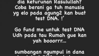 Photo of Disebut Lonte, Nikita Mirzani Menantang Habieb Rizieq Test DNA